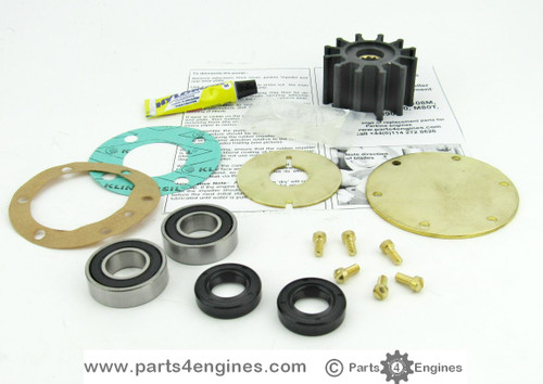 Perkins Prima M80T Raw water pump rebuild kit from parts4engines.com