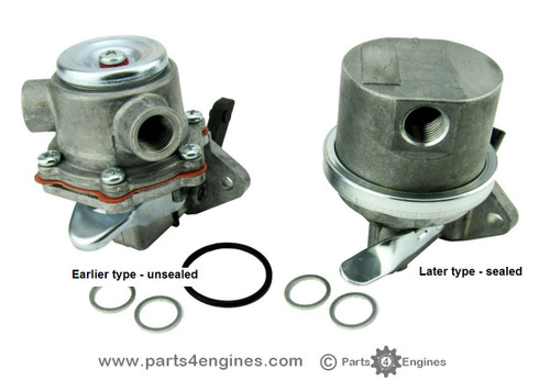 Volvo Penta 2003T fuel lift pump earlier and later type from Parts4engines.com