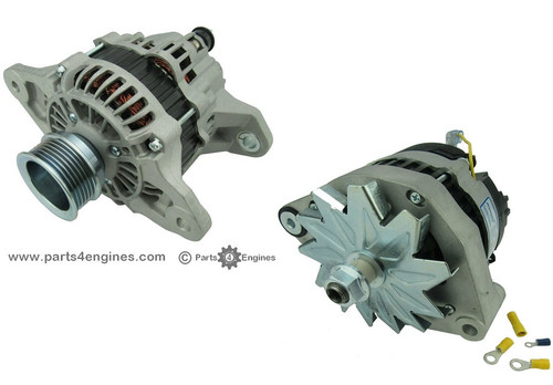 Volvo Penta D2-55 ribbed and V belt pulley Alternator from Parts4engines.com