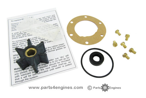 Volvo Penta MD2010 raw water pump service kit (early) from Parts4engines.com
