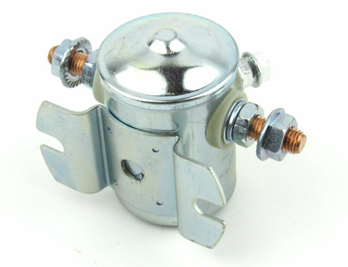 Perkins 6.354 Starter solenoid rear view from parts4engines.com