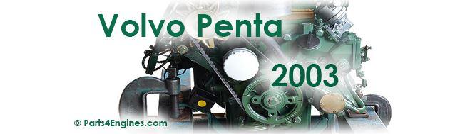 Volvo Penta 2003 parts