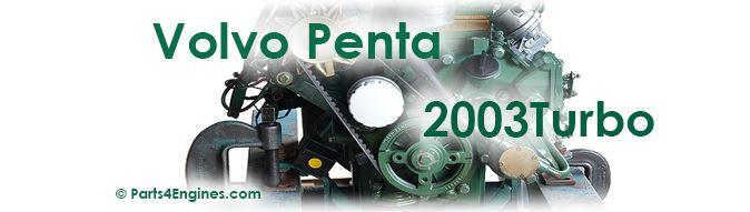 Volvo Penta 2003T parts