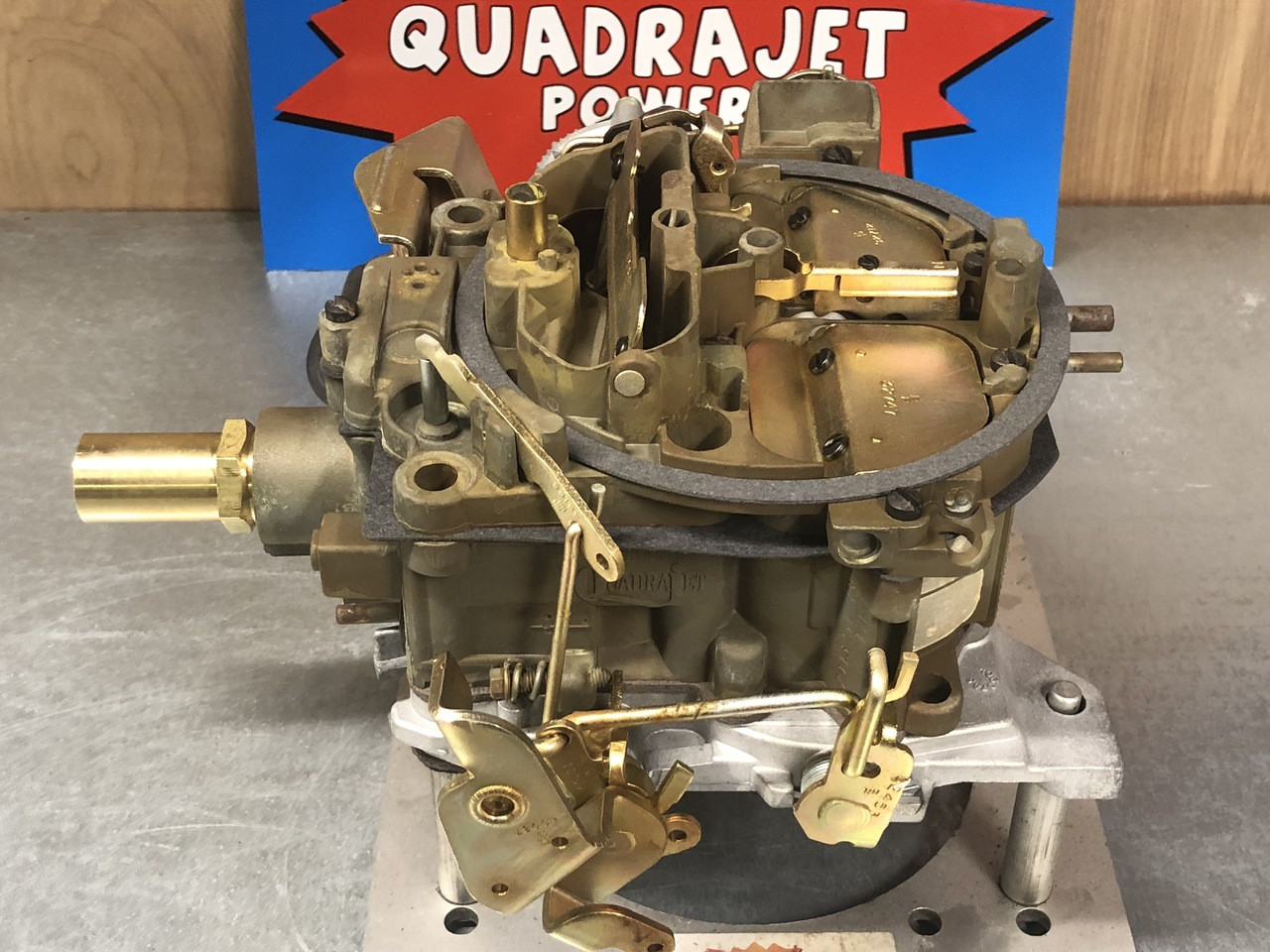 Quadrajet built to order for your specific needs