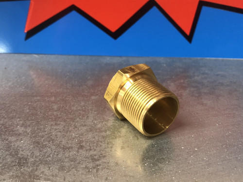 Fuel filter Housing, long threads 7/8x20, New