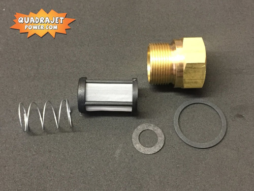 Marine Fuel filter inlet kit, Screen Filter, early inlet gasket, spring, Inlet