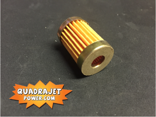Short fuel filter with check valve, New