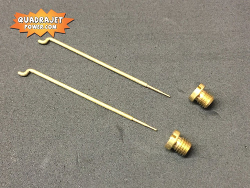 Quadrajet 72 Jets and 42B rods combo. New