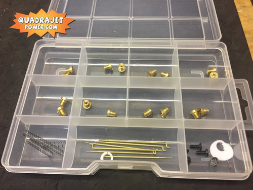 Quadrajet Ultimate tuning kit.  Jets, Primary rods, and more