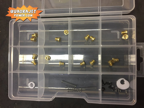Quadrajet tuning kit.  Jets, springs and more