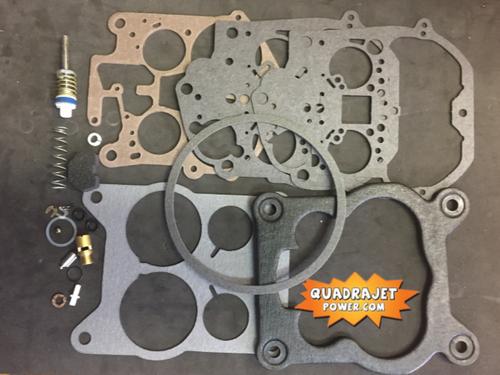 Quadrajet Rebuild Kit. Buick 77, Cadillac 77-80, Chevrolet 75-79, Oldsmobile 77  Pontiac 75 77