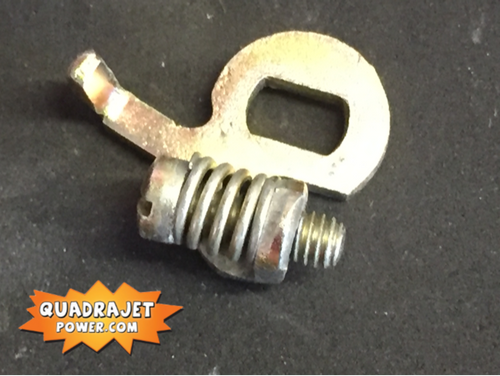 Fast idle speed adjuster screw.  31933
