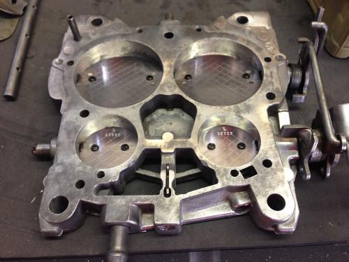 Base Plate Repair