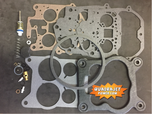 Quadrajet Rebuild Kit.1978-1988 Chevy, Buick, Cadillac, GMC, Chrysler, Dodge, Oldsmobile, Plymouth, Pontiac