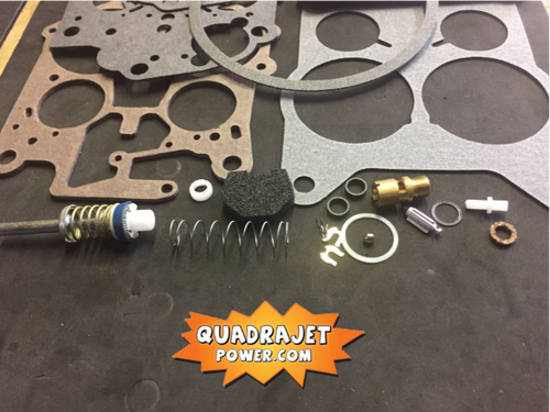Quadrajet Rebuild Kit. Buick 75-81, Chevrolet 80, Olds 75-76, Pontiac 75-80