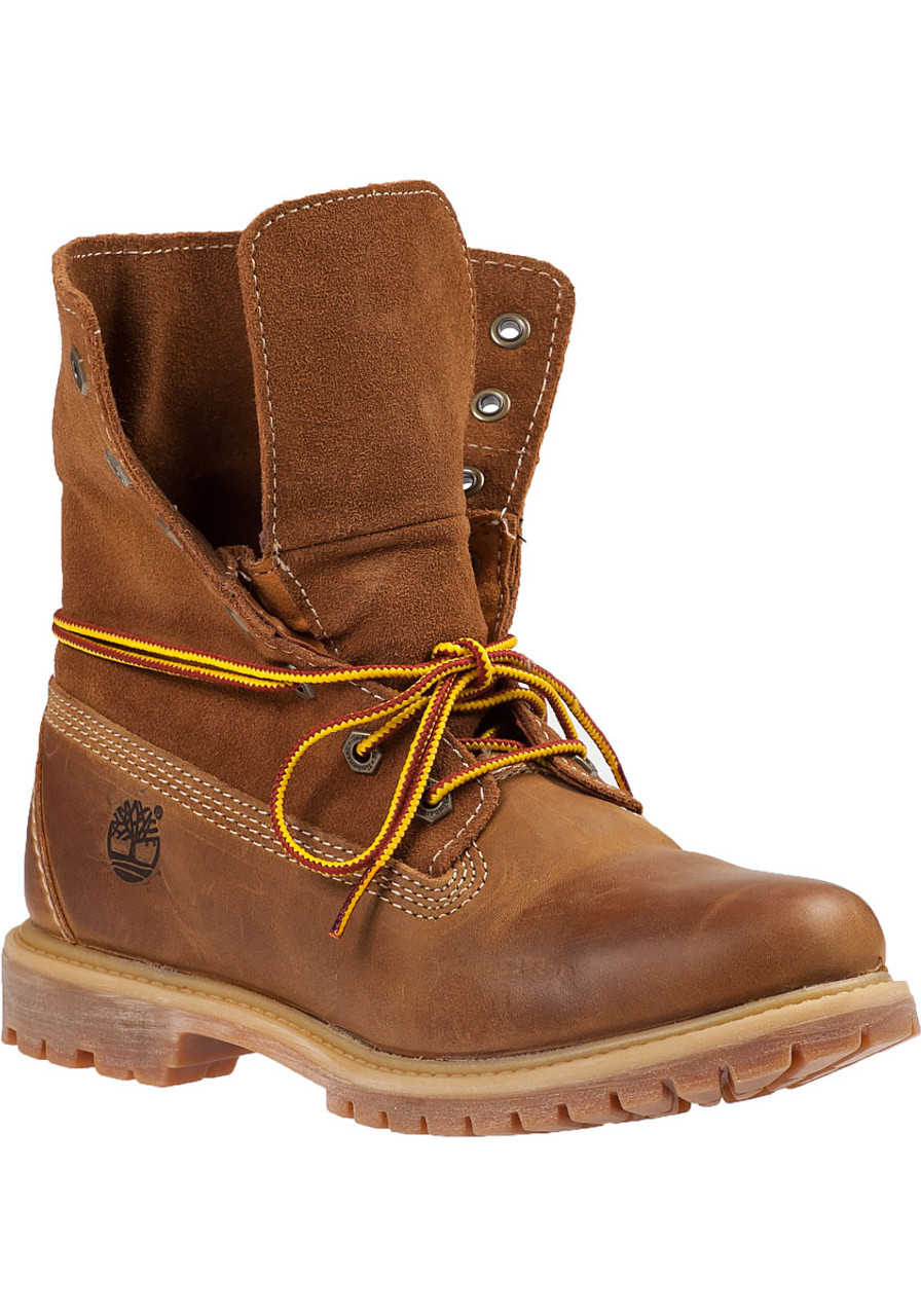 08295fd12bac Authentics Roll-Top Boots Wheat Leather - Jildor Shoes