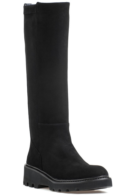 312327f99429 18389 Boot Black Suede