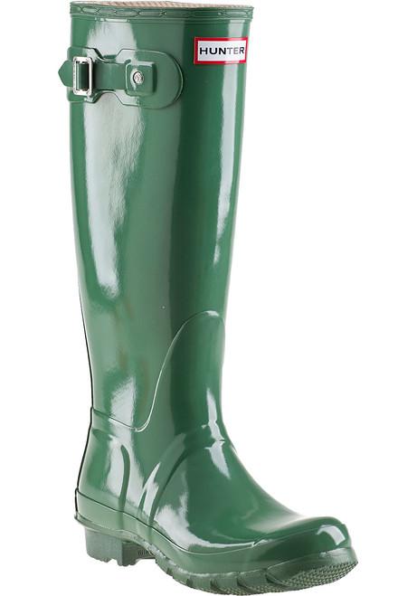 Original Gloss Rain Boot Moss Green Rubber Jildor Shoes