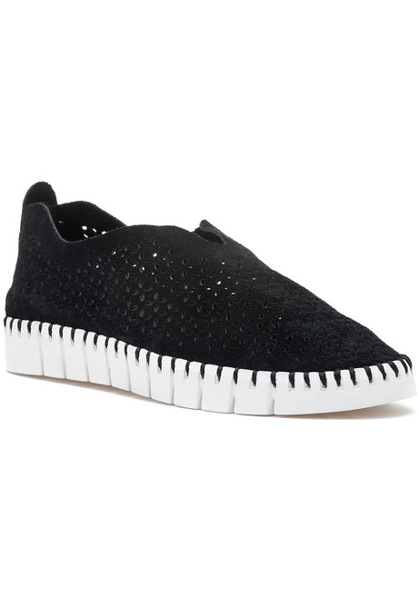 31a6c0e1b09e Tiles Slip On Sneaker Black Suede