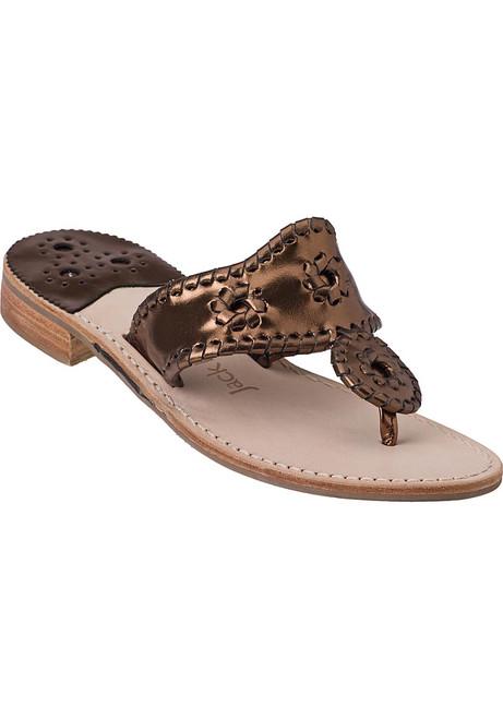 5bb4e3d97e6 Navajo Thong Sandal Bronze Leather