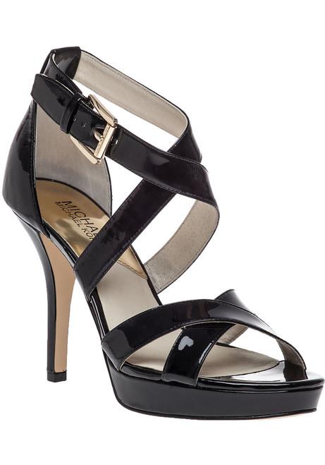 20dfe67a6c47 Evie Platform Sandal Black Patent