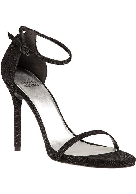 363ea3a8a93 Nudistsong Sandal Black Goosebump Leather