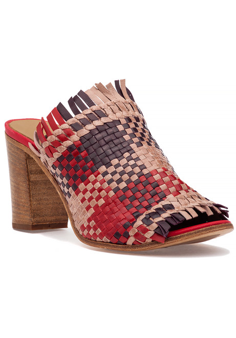 74d36b7f371 1723 Sandal Red Multi Leather