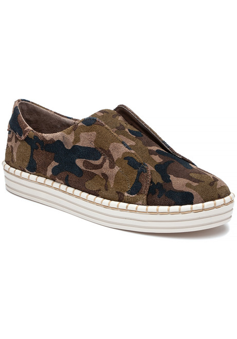df8998fc036f Karla Sneaker Green Camo Suede