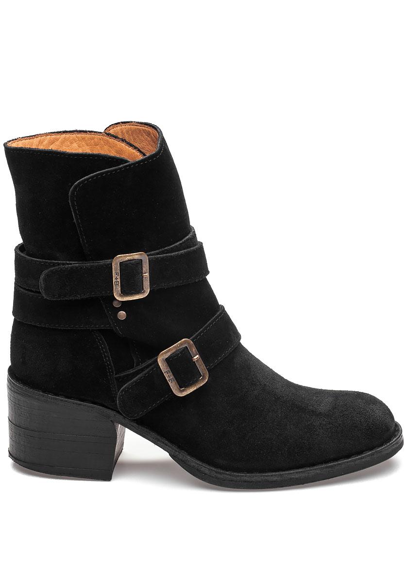 Tempest Toky Black Suede Boot Jildor Shoes