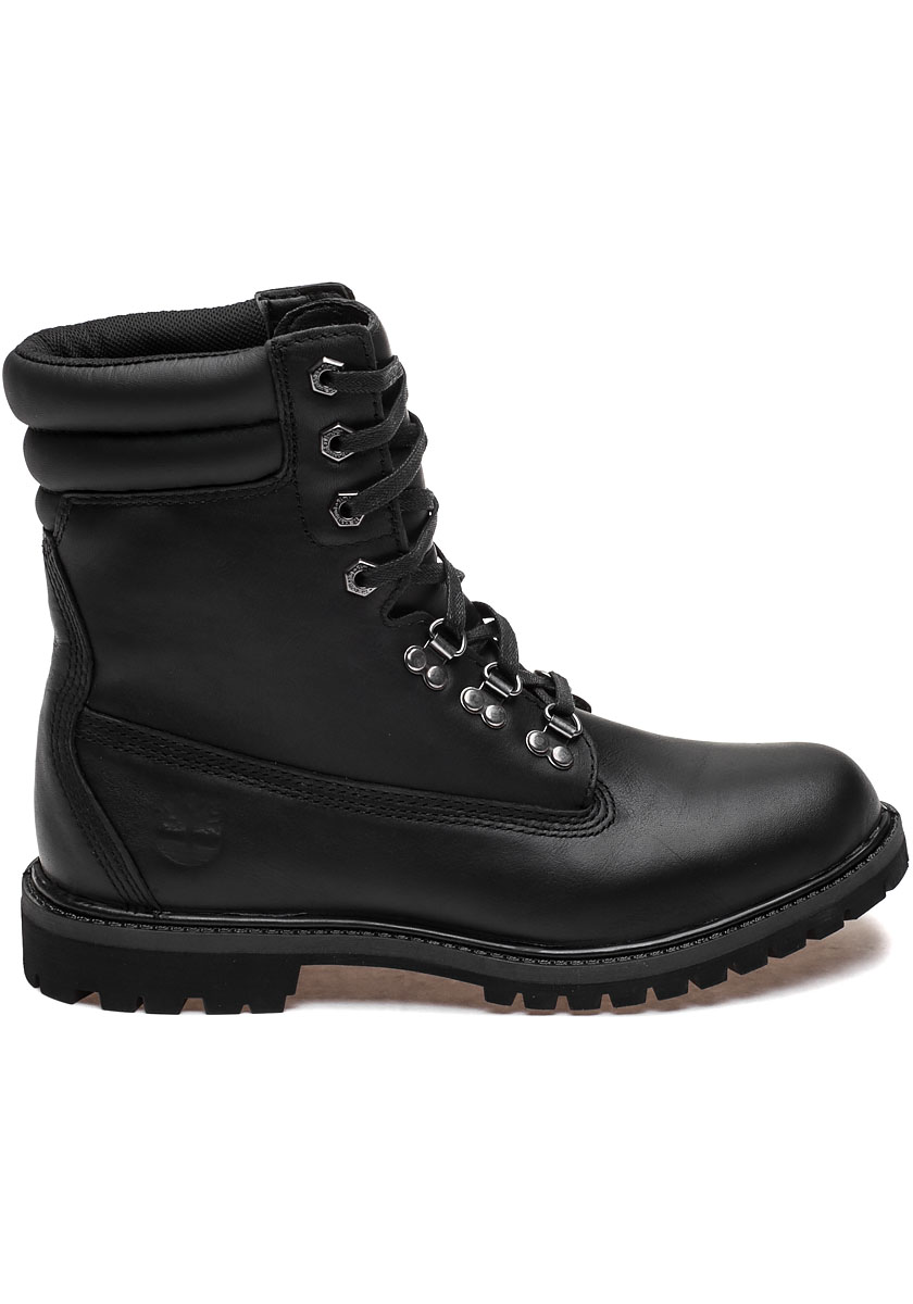 6 Inch 40 Below Rugged Black Leather Boot Jildor Shoes