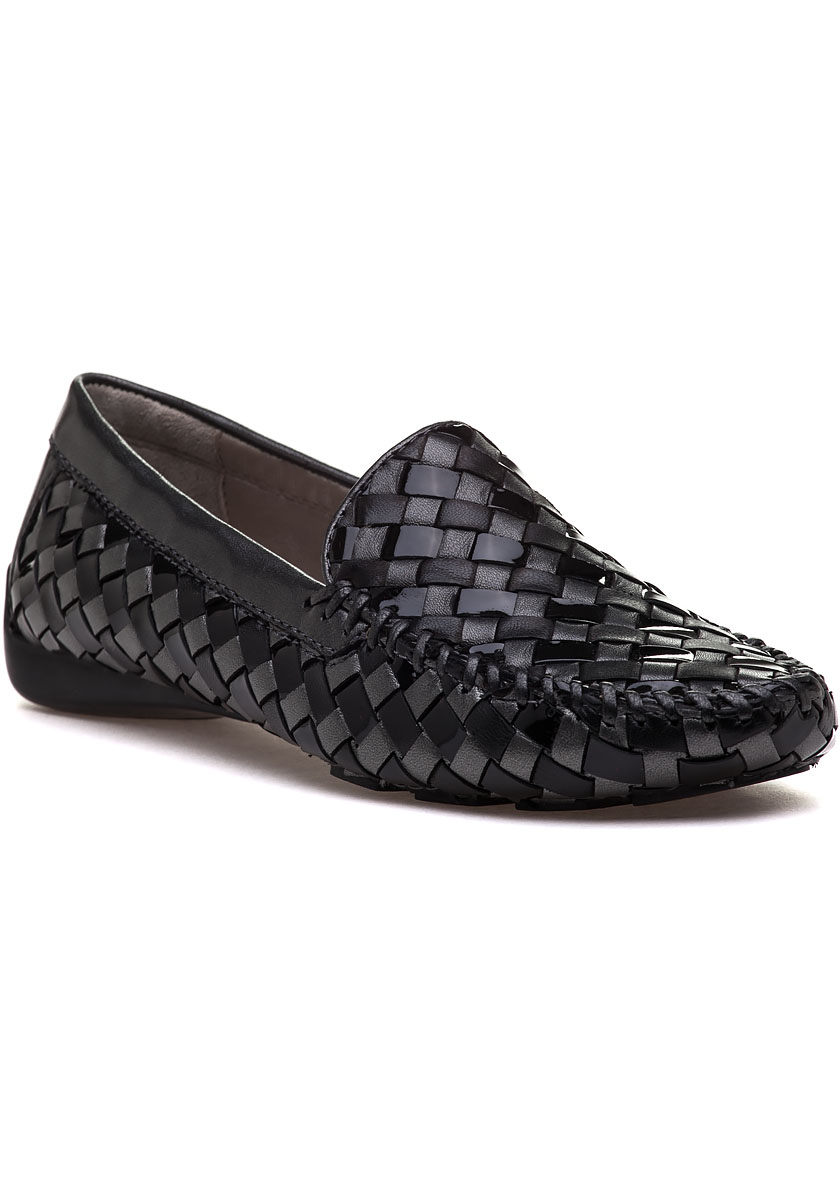 Venetian Black Leather Loafer Jildor Shoes