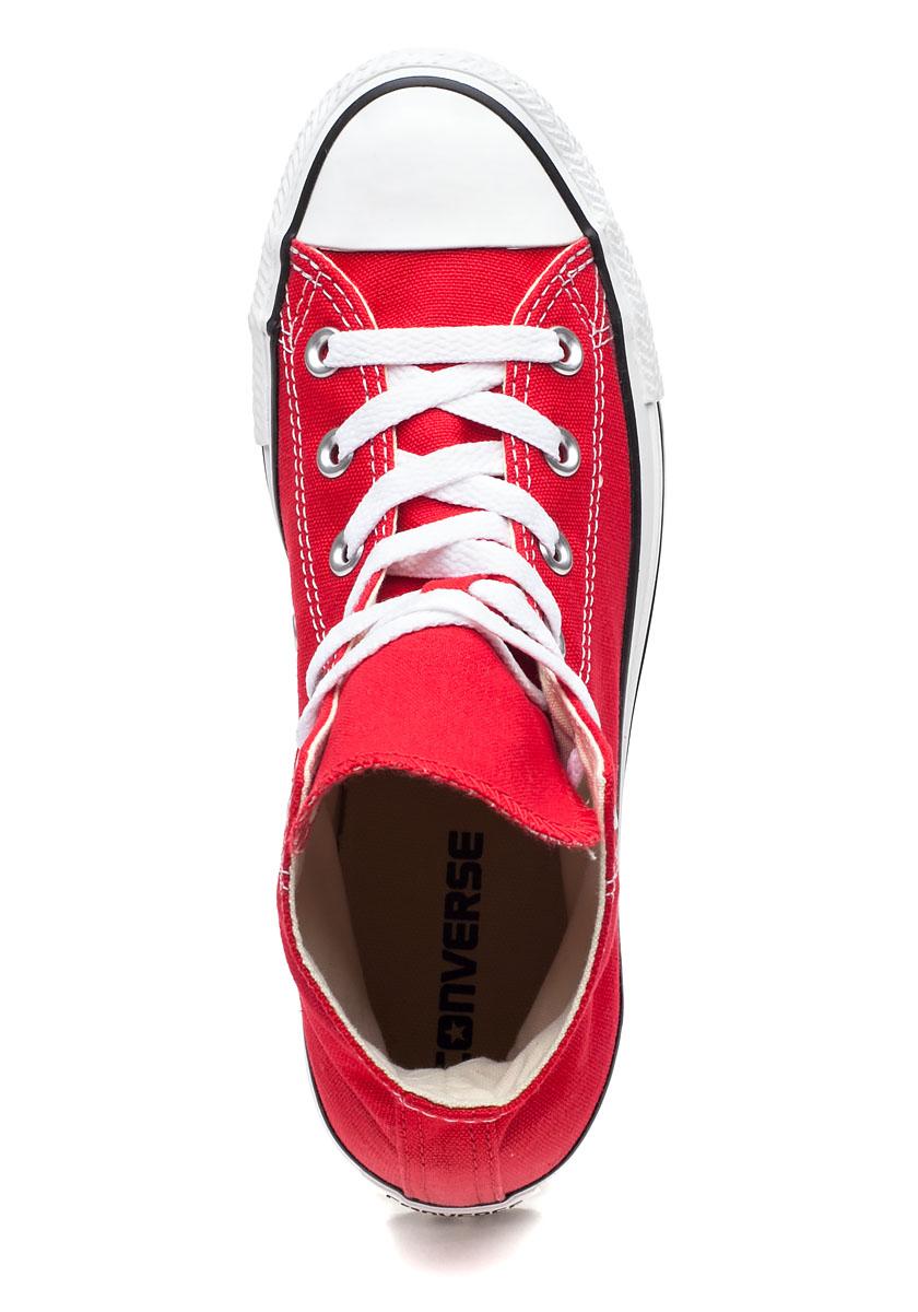 Chuck Taylor All Star High Top Sneaker Red Canvas Jildor