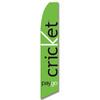 Cricket PayGo Feather Flag