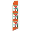 7 Eleven - Orange - Feather Flag