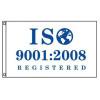 ISO 9001:2008 Registered Flag