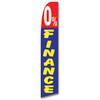 0% Finance Feather Flag