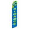 Easy Finance #2 Feather Flag