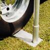 Aluminum Telescoping Flagpole Tire Mount - Medium