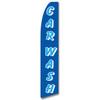 Car Wash - Blue - Feather Flag
