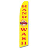 Hand Wash- Yellow/Red- Feather Flag