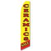 Ceramics Sale Feather Flag
