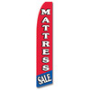 Mattress Sale - White and Red - Feather Flag