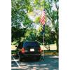 Fiberglass Tailgating Flagpole Set 16 foot