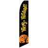 Happy Halloween Feather Flag (Black)