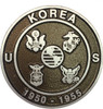 Korean War Grave Marker---Cast Aluminum