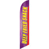 Deep Fried Snack (yellow letters) Semi Custom Feather Flag Kit