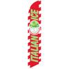 Italian Ice (green letters) Semi Custom Feather Flag Kit