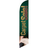 Carpet Sale (Green Background) Semi Custom Feather Flag Kit