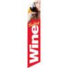 Wine Tasting (red background) Semi Custom Feather Flag Kit
