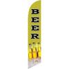 Beer (green background) Semi Custom Feather Flag Kit